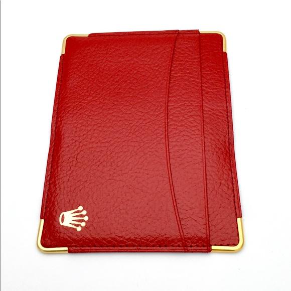 Handbags - Original Leather Rolex 3 Credit Card Holder